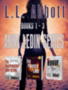 Anna Ledin Thriller Series by L.L. Abbott
