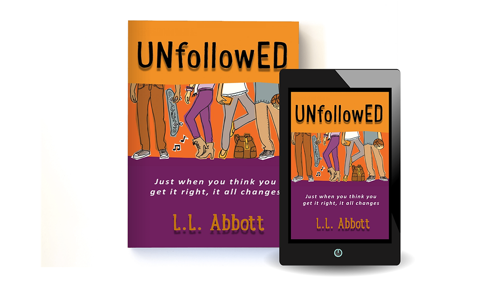 Official Book Press Release for UNFOLLOWED a highly anticipated Teen Young Adult Novel for 2020