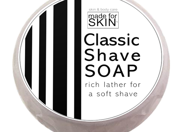 Classic Shave Soap | made for SKIN