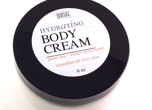 Hydrating Body Cream | whipped body moisturizer for skin | made for SKIN