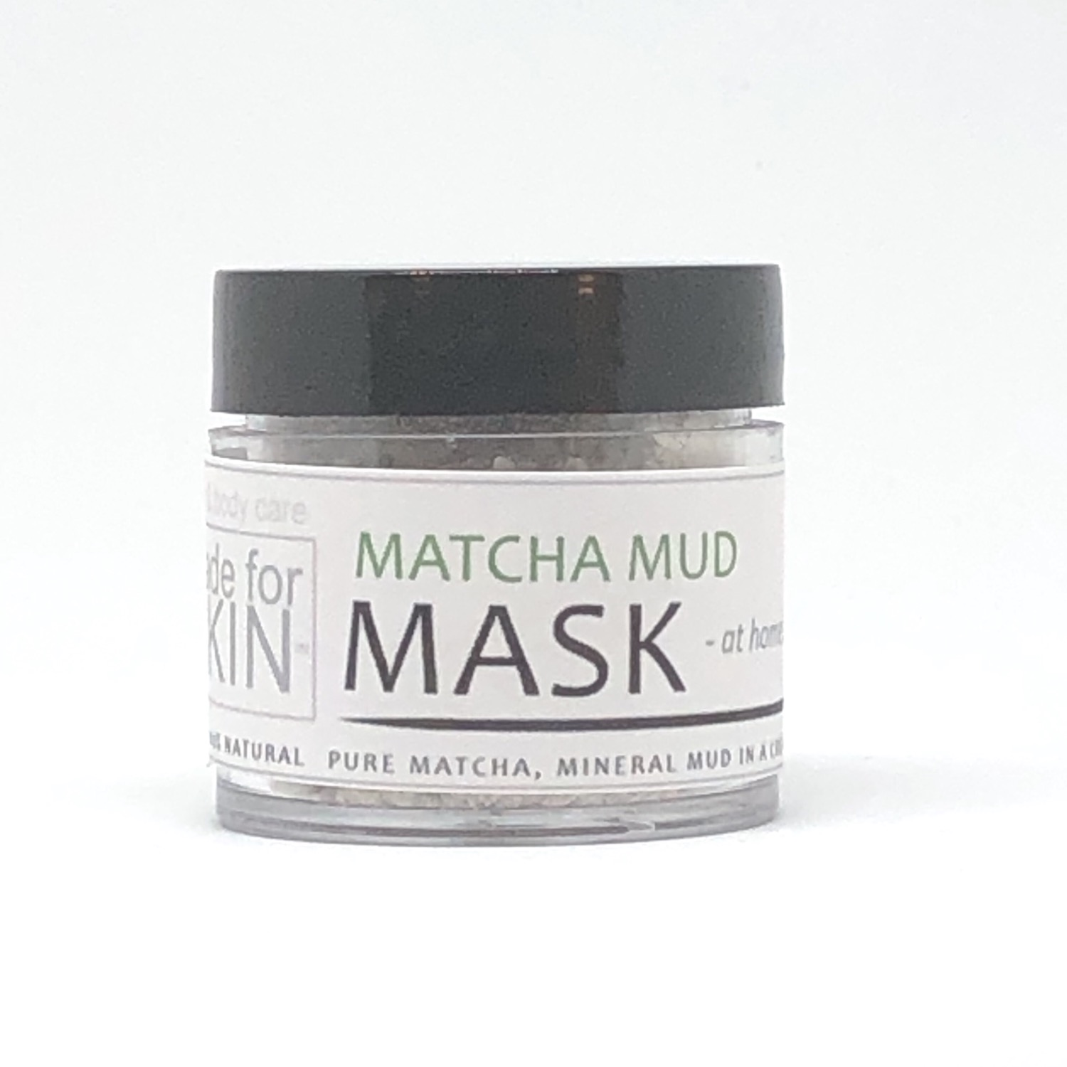 Green Matcha Mud Mask | made for SKIN
