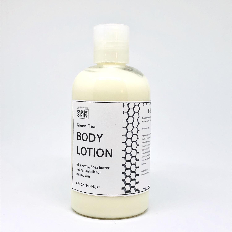 Hemp Green Tea Body Lotion | made for SKIN