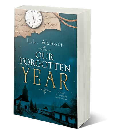 Our Forgotten Year | A WW2 historical fiction novel about love, hope and loss