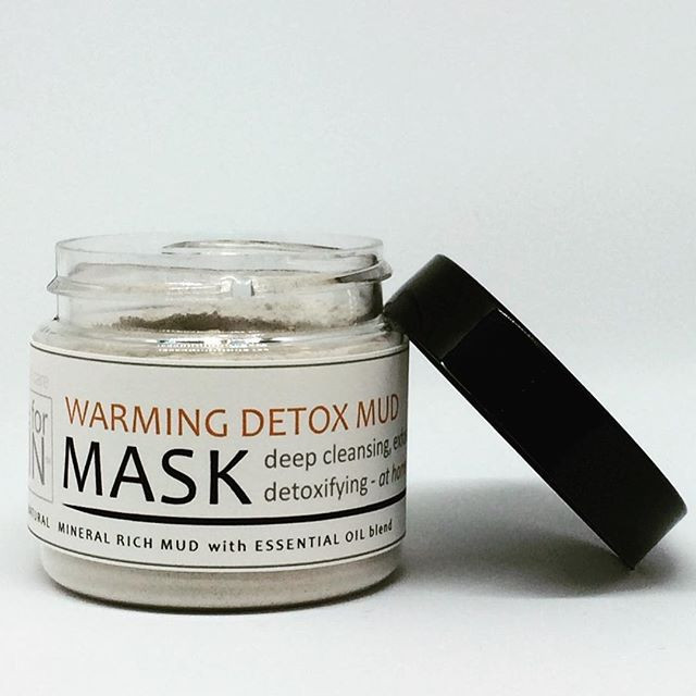 Mud Mask Purifying and Detoxifying | natural skin care | made for SKIN