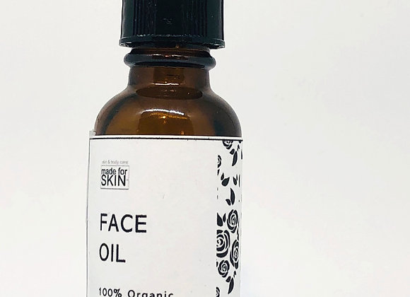 Organic Face Oil / Face Serum | made for SKIN