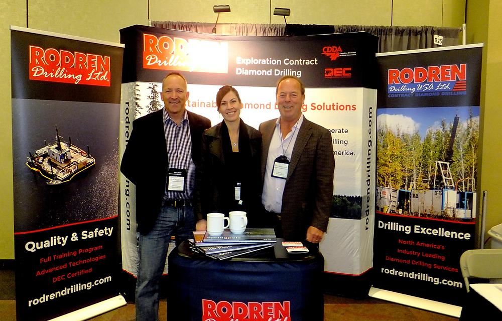 Manitoba Mining and Minerals Convention 2016 Winnipeg | Rodren Drilling