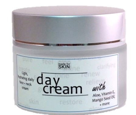 Hydrating Day Moisturizing Cream | natural skin care | made for SKIN