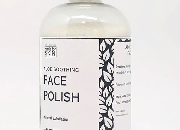 Aloe Soothing Face Polish | made for SKIN