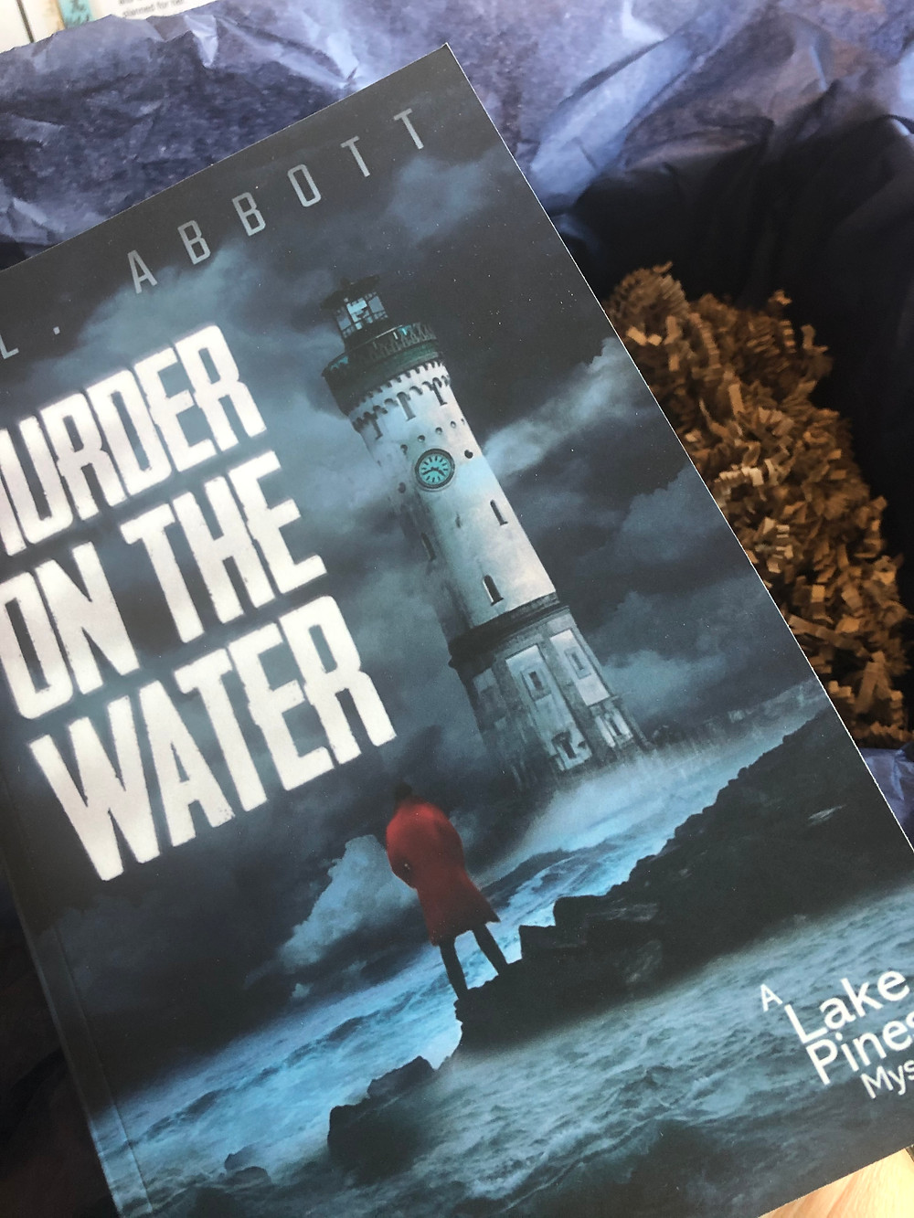 Goodreads Giveaway box for Murder On The Water