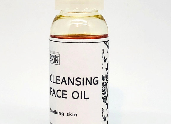 Argan Cleansing Face Oil | made for SKIN