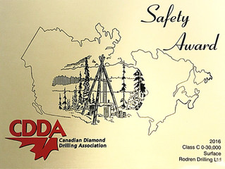 CDDA Safety Award
