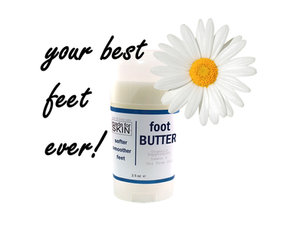 Foot Butter - Sooth Dry Cracked Feet | made for SKIN