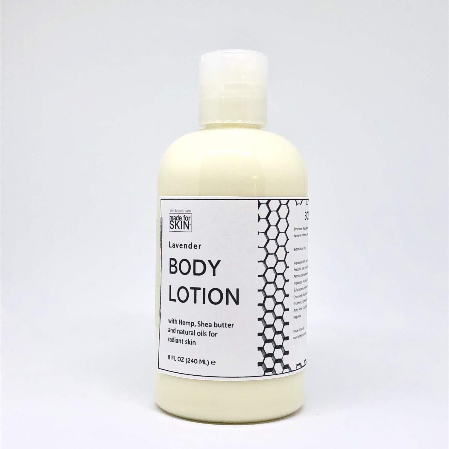 Hemp Lavender Body Lotion | made for SKIN