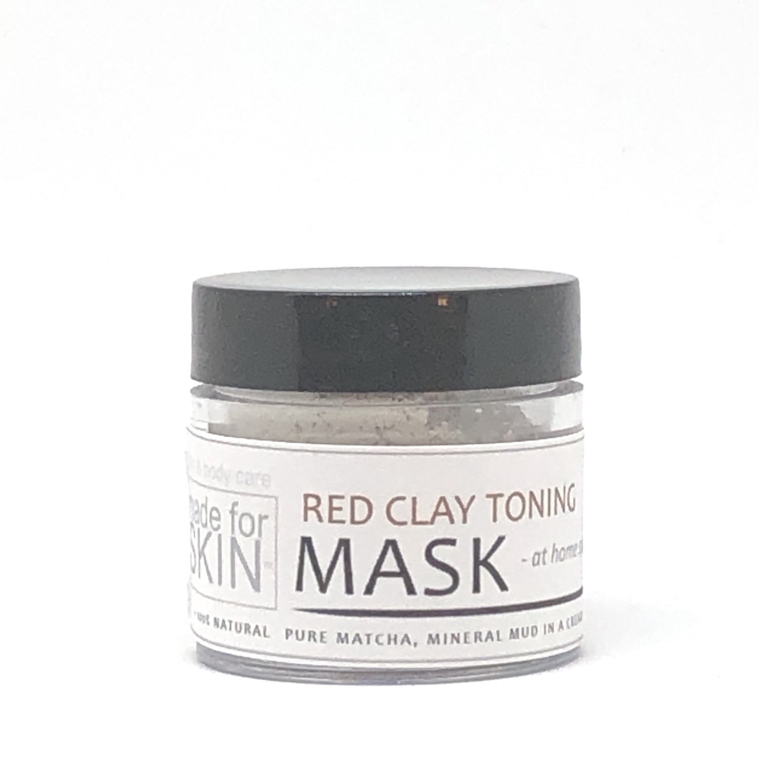 Red Clay Toning Mud Mask | made for SKIN