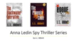 Anna Ledin Spy Thriller Series | L.L. Abbott