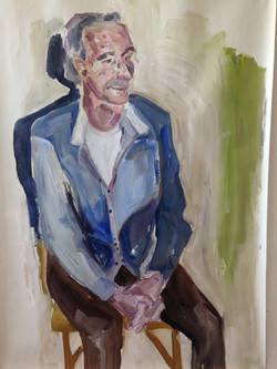 Olieverfportret, grootvader