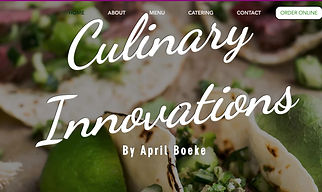 Culinary Innovations By April Boeke