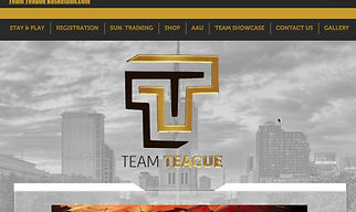 Team Teague Website Showcase (Delisa Payne)