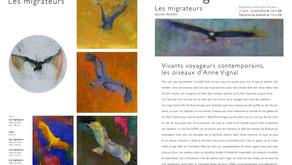 « Vivants voyageurs contemporains, les oiseaux d'Anne Vignal » par Frédéric Worms