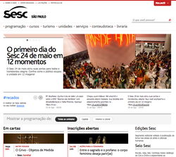 Prensa - Inauguração SESC São Paulo