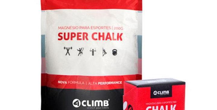 KIT CADENA: Magnésio Super Chalk 200g + Chalk Block 56g