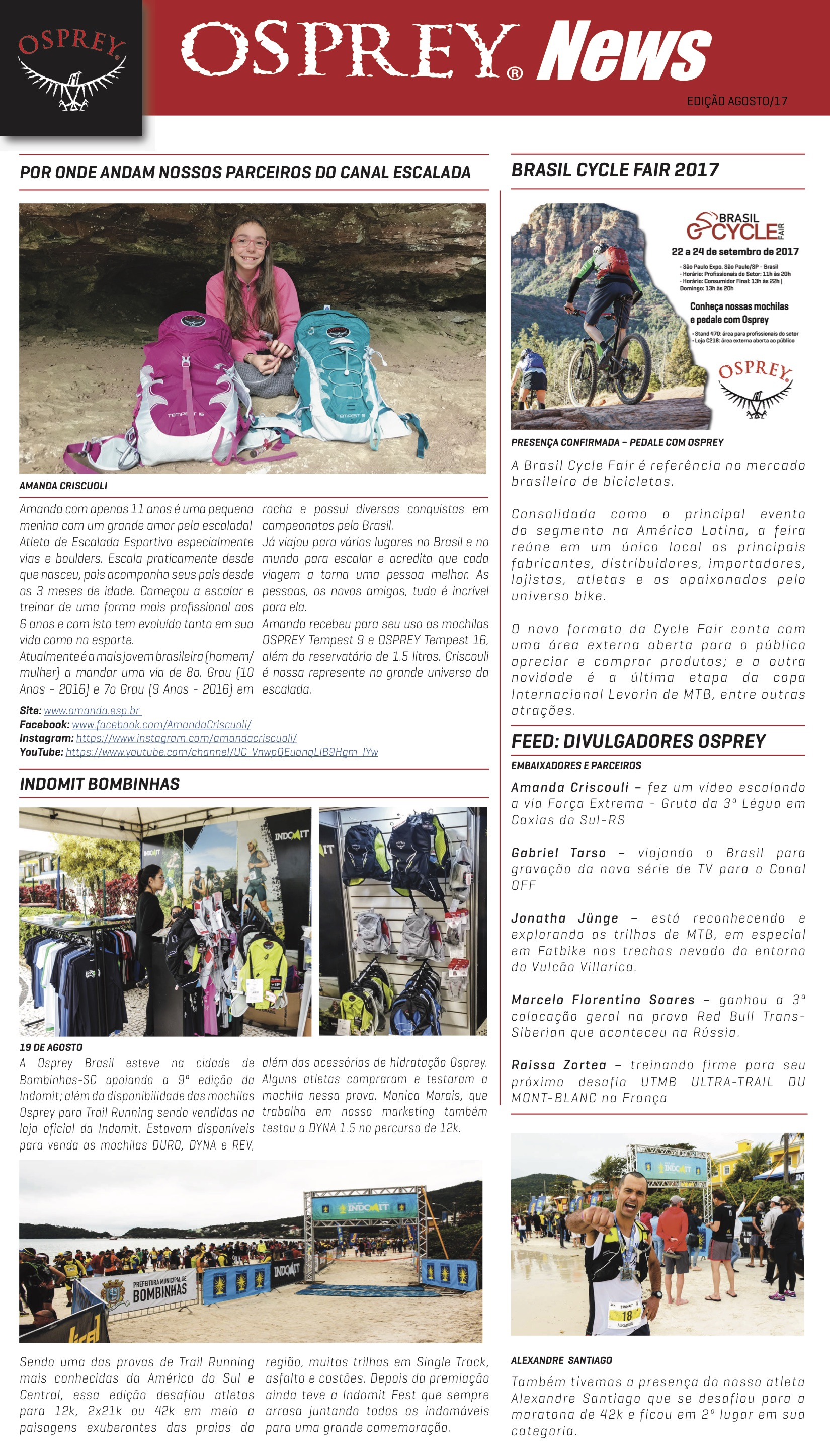 Press Release - Osprey News