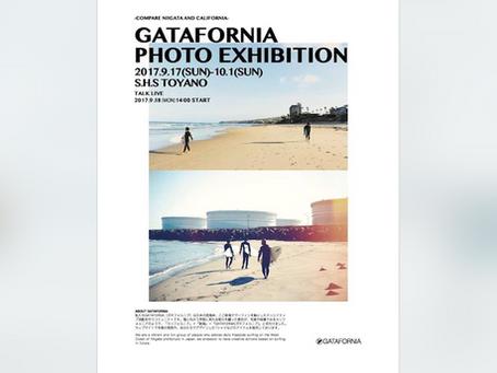 GATAFORNIA写真展開催のお知らせです