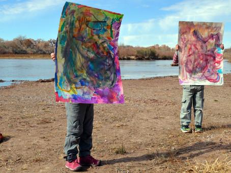 Watercolor Monsters!