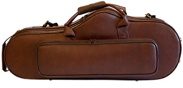 Standard case that comes with your Santee 2C4 Pro-Fusion professioal saxophone - alto case shown here