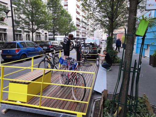 22/11/19 : Dans le 15e, on bricole son vélo !