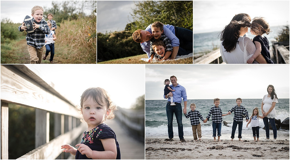 Large family session | Southeast CT Family and Newborn Photographer