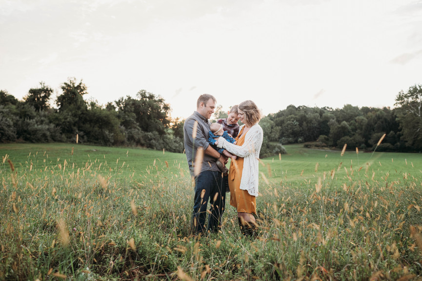 Family Photography session at Chase Farm