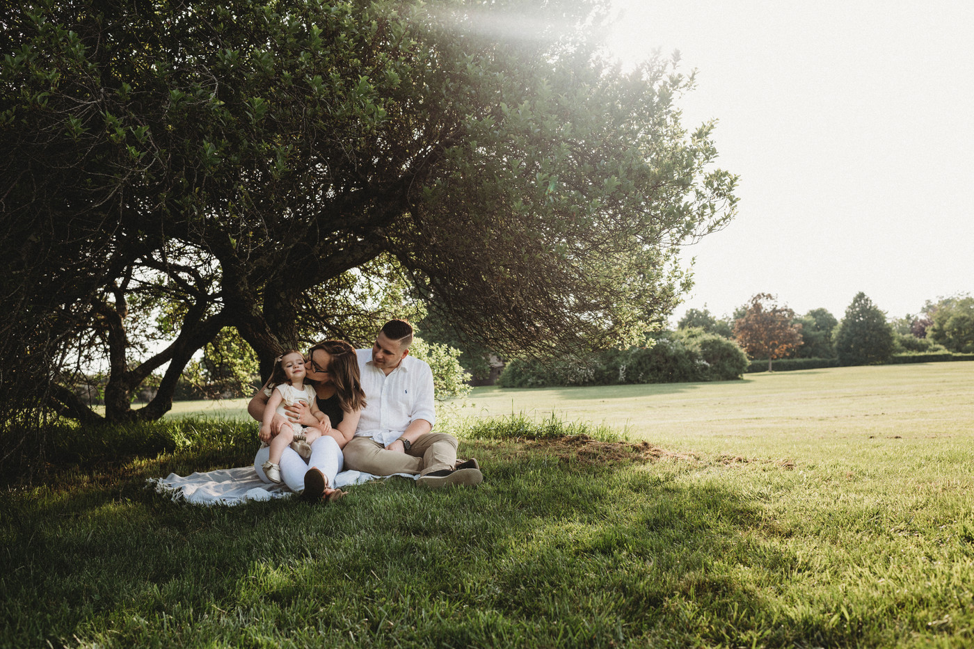 Finding the best light for family photos | Mystic Connecticut's Best Family Photographer