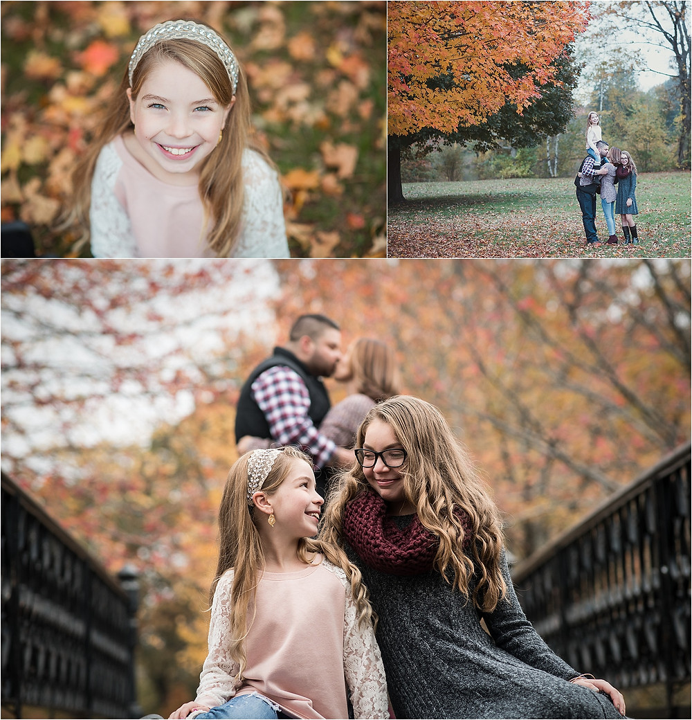 Fall Family Photos at Roger Williams Park in Providence Rhode Island
