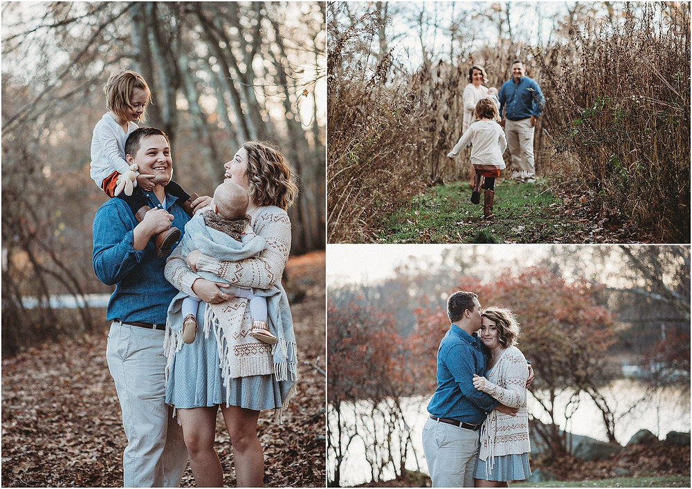 Connecticut Arboretum, New London CT Family and Newborn Photographer