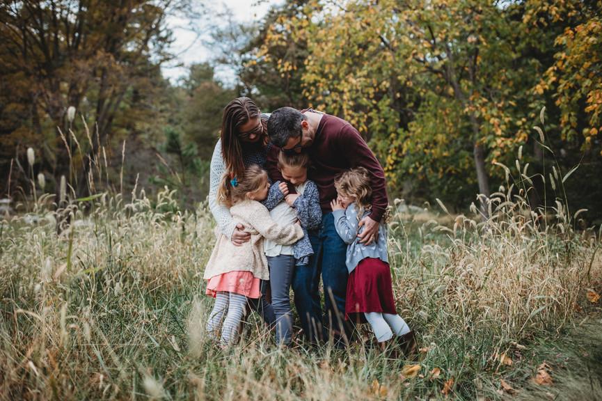 Family Photo Sessions at Connecticut Arboretum