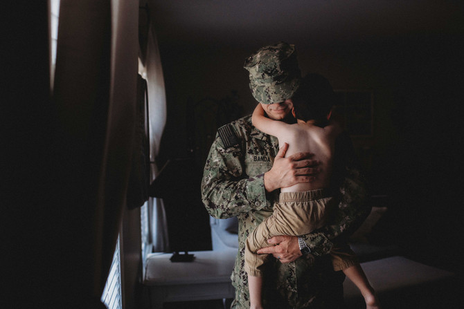 I'm a Military Spouse Too | Eastern Connecticut Leading Baby and Family Photographer