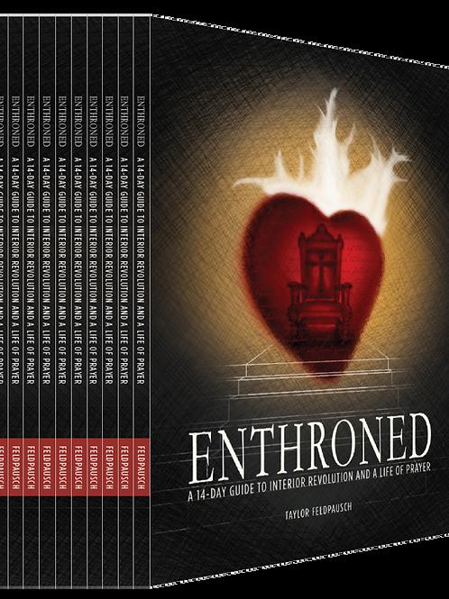 10 - Pack Enthroned Prayer Guide
