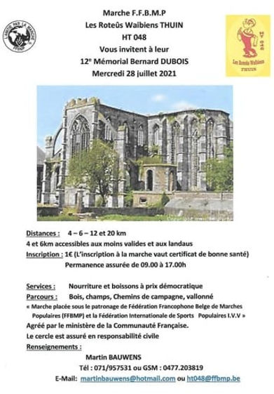 roteux waibiens thuin 28 juillet 2021