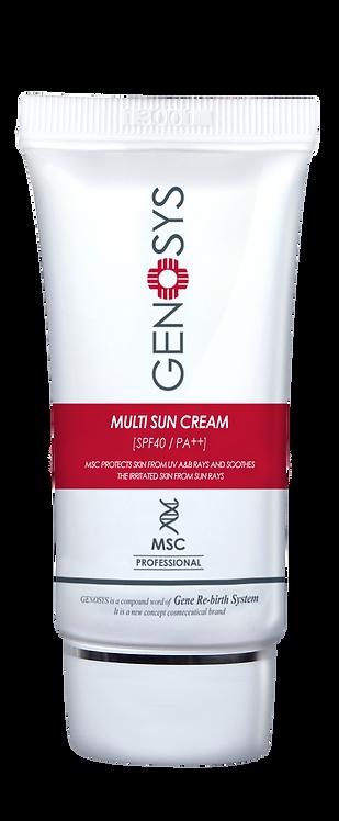 GENOSYS MSC Multi Sun Cream 40ml