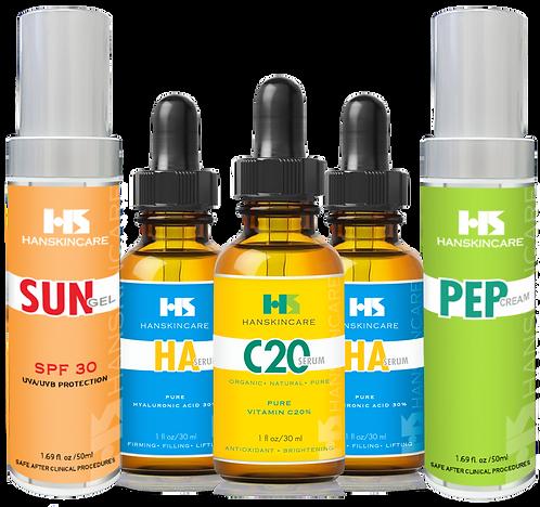 [HD]HanSkincare X2 HA, X1 C20, X1 PepCream, X1 SunGel