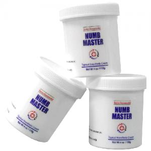 X3 Numb Master Lidocaine 5%, 4oz