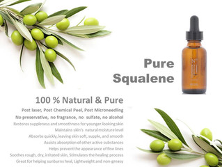 Pure Squalane for Skin: Natural and Powerful