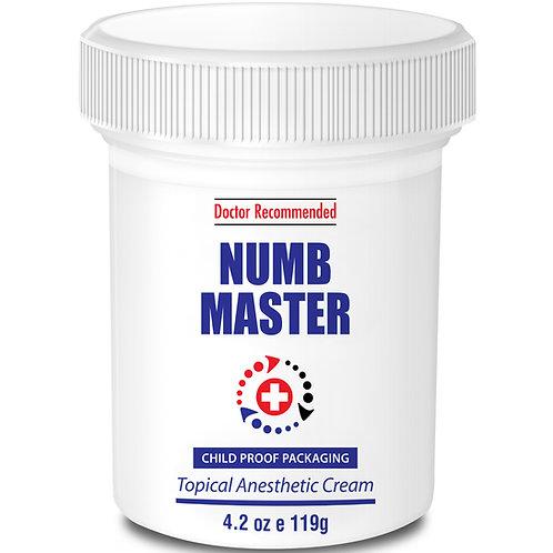 Numb Master 5% Lidocaine 4.2oz / 119g