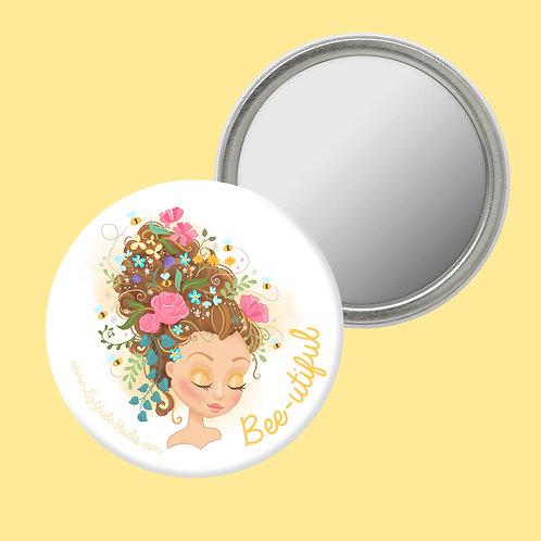 Bee-utiful Compact Mirror