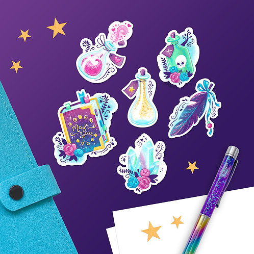 Magic Within Sticker Pack