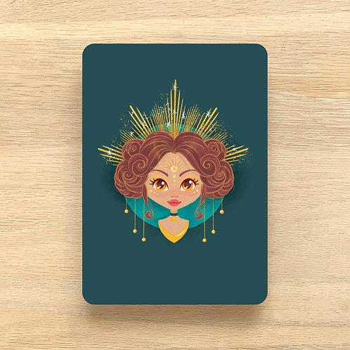 Art Print ~ A5 ~ 'Sun Goddess' by Liz Yuile