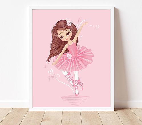 Custom Ballet Portrait