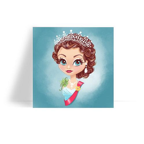 Queen Portrait Print