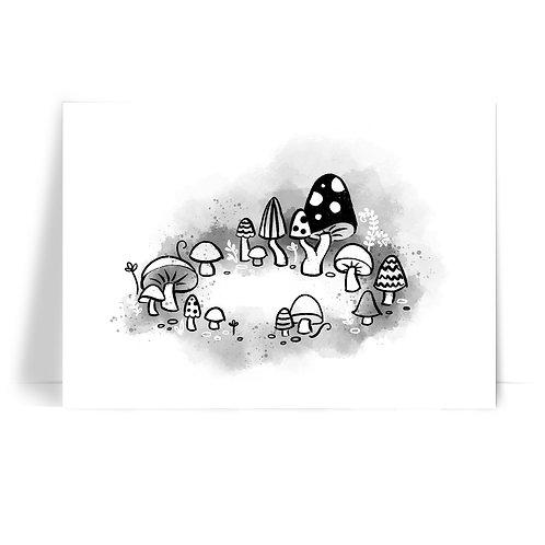 Inktober 2019 'Fairy Ring' Print